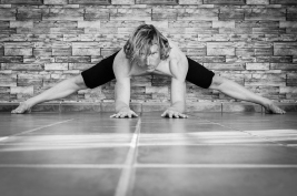 Yoga - Wide Leg Forward Fold Pose