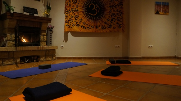 Yoga lounge for the colder days