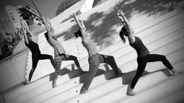 Estepona Yoga Orchidarium - Warrior 1