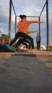 Yoga Estepona Bound Warrior 2