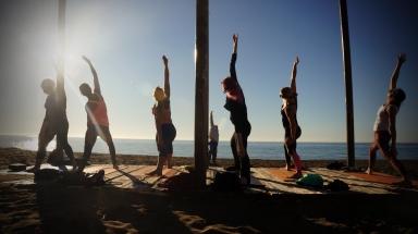 Yoga Estepona - Reverse Warrior