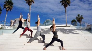 Yoga Estepona - Warrior 1